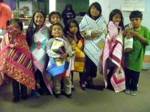 Quilt giveaway in Black Mesa, with Quilts Beyond Borders